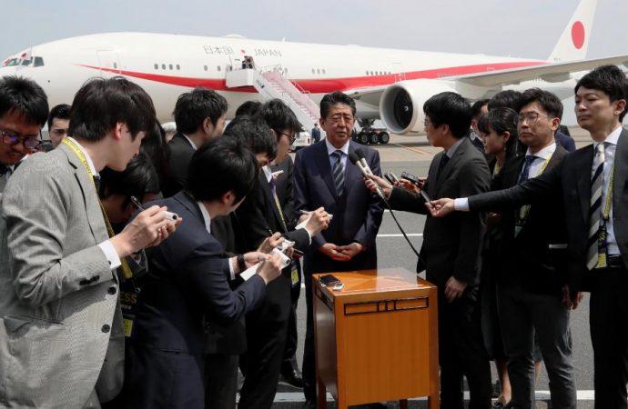 Japon: tournée de Shinzo Abe dans six pays avec la Chine dans la ligne de mire