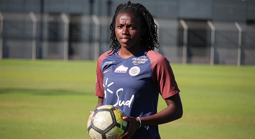 Nérilia Mondésir : de stagiaire-pro à joueuse professionnelle à part entière