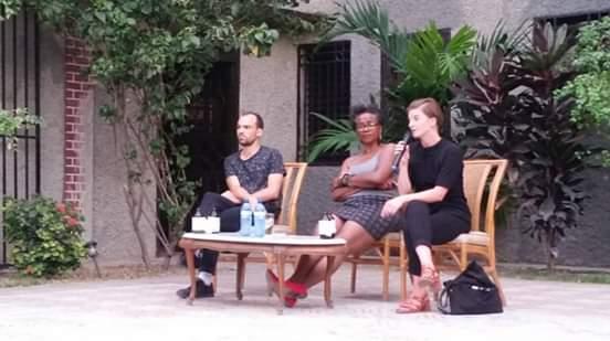 Les chercheurs Johanna Nuber et Samir Sellami reçus en conférence au Centre PEN Haïti