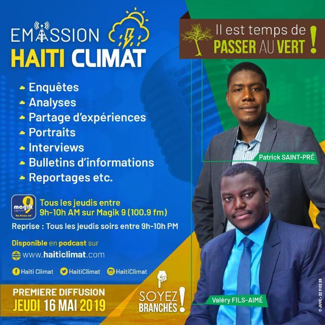 Haïti Climat : une plateforme multimédia dédiée à la cause de l'environnement en Haïti