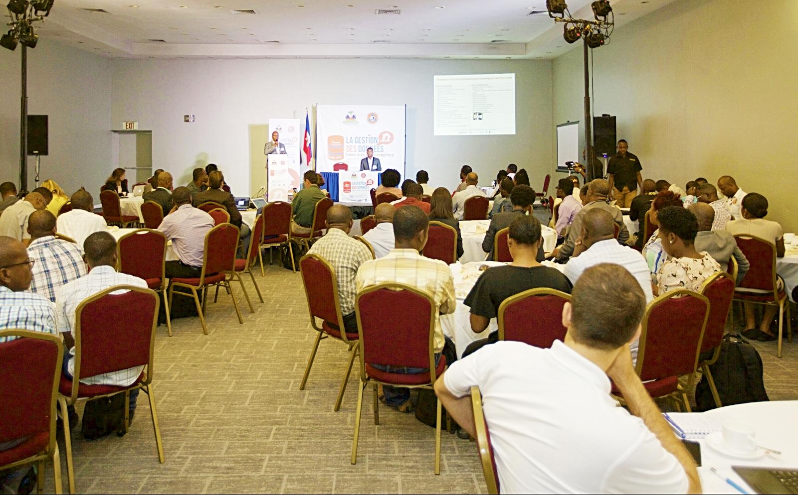 Un forum national sur la gestion des données liées aux catastrophes