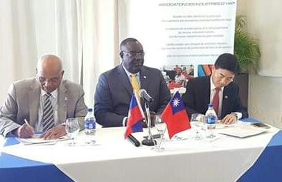 Renforcement du secteur textile : signature d'un protocole d'accord entre Taïwan, l'ADIH et le gouvernement haïtien