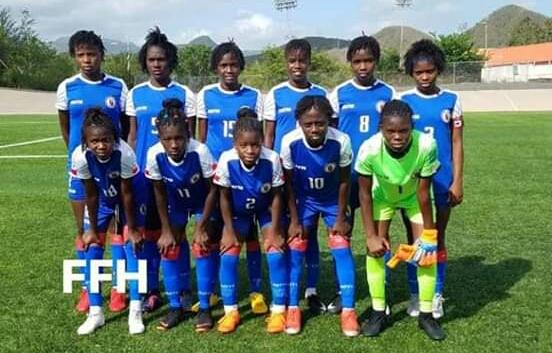 Challenge CFU U-14 Féminin : 38 buts en deux matchs pour l'équipe haïtienne