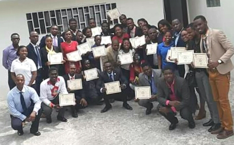 Formation des jeunes sur les droits humains à l'Office de Protection du Citoyen