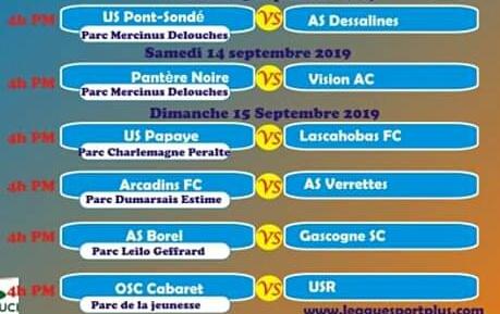 Les matches du Championnat national D2/série retour débuteront ce vendredi 13 septembre