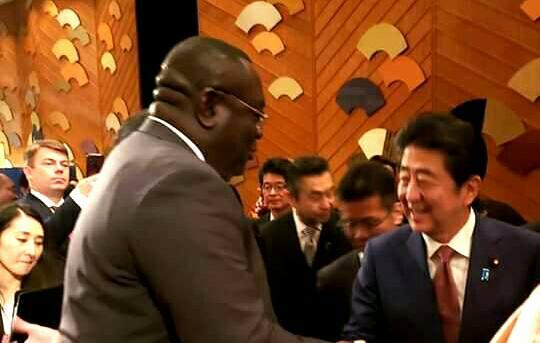 Haïti à l'intronisation de l'Empereur japonais, Naruhito
