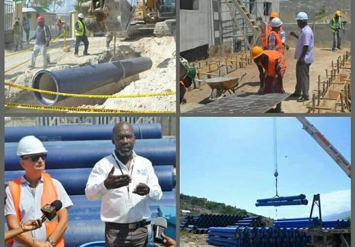 Coopération Haïti/Cuba : Réhabilitation et extension du réseau d'eau dans le Grand Nord