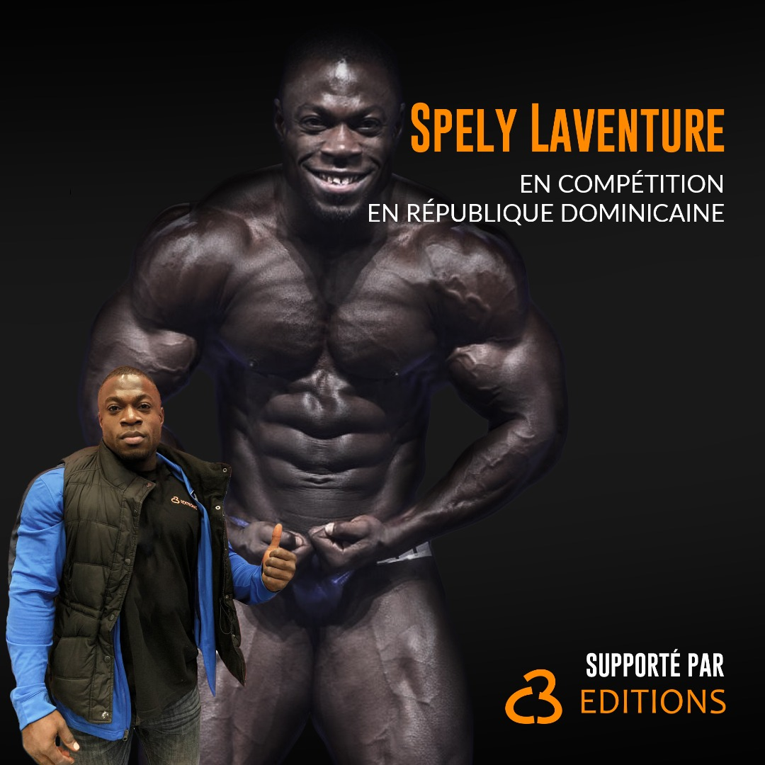 Bodybuilding : La C3 édition supporte Spely Laventure