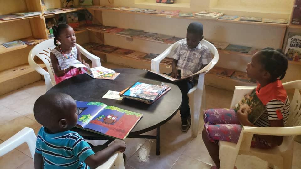 Gonaïves : les enfants sont de retour au Centre culturel l'Amaranthe