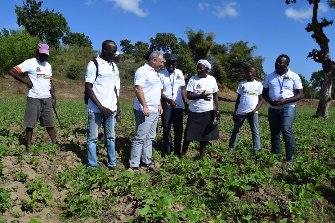 Nord-est d'Haïti : 4 jours de visite pour le représentant de la FAO, José Luís Fernández