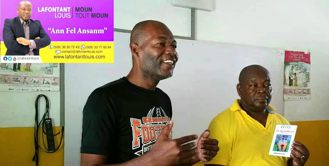 Jacmel/La Montagne: Visite du Consul Lafontant Louis au Centre numérique de Sable Cabaret