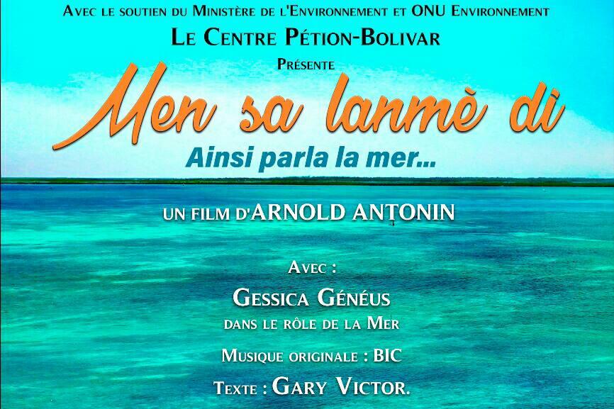 Quand Arnold Antonin fait parler la mer aux enfants d'Haïti