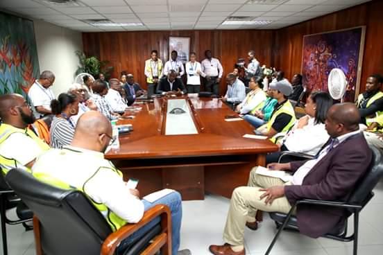 Coronavirus : Le MSPP tient une séance d'informations à l'Aéroport international Toussaint Louverture